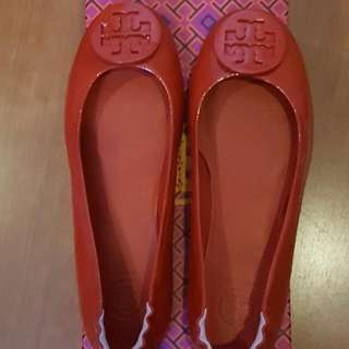 Tory Burch Minnie Travel Ballet Flat Shoes