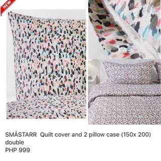 Ikea Bed Quilt And Pillow Covers