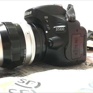 Nikon D5100 + 18 55 VR
