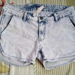 Folded And Hung Shorts