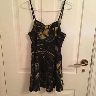 Ksubi Silk Mini Dress Size M