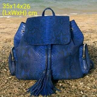 REPRICED!!! Genuine Python Skin Leather Bag