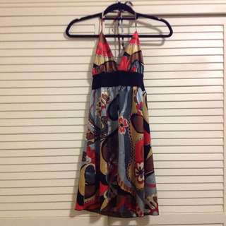 Silky summer dress Size 8