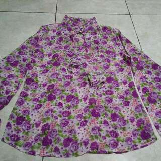 Flower Blouse Import