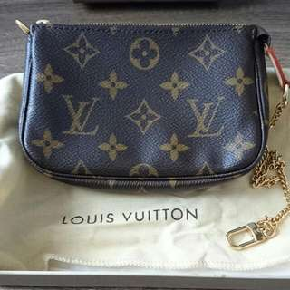 LV 100% Real / Made In France No mark down /  Great Condition (same as new) Size W17cm X H 11cm Buyer will pay for the delivery fee SERIOUS BUYER ONLY