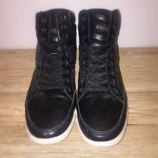 Aldo Black High Tops