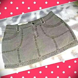 Maong Mini Skirt