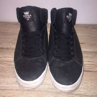 Black Supra High Tops