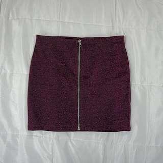H&M Pink Bandage Mini Skirt