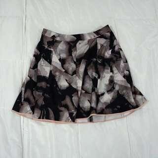 Graphic A-Line Skirt (Mossimo)