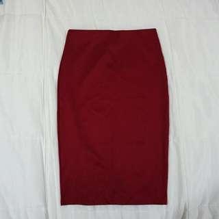 Forever21 Midi Pencil Skirt