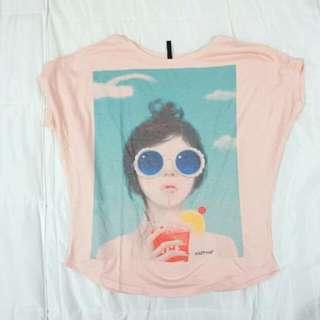 NafNaf Loose Fit Graphic Shirt