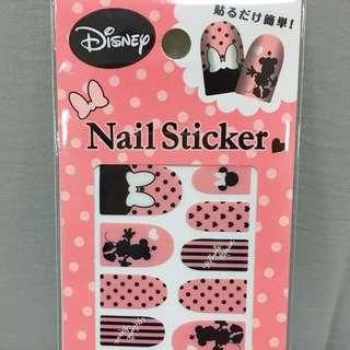 日本超值  迪士尼米妮指甲貼