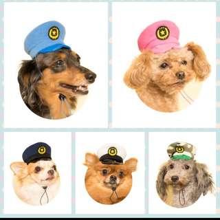 日本扭蛋 狗狗巡邏帽
