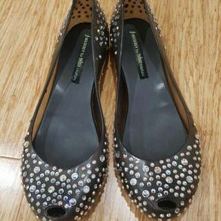 J. Maskrey Melissa Shoes with Swarovski Crystals