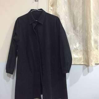 [韓]牛仔外套大衣