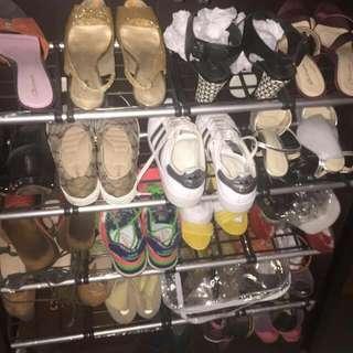 Cuci Lemari Sepatu.