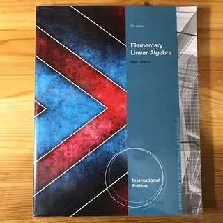 Elementary Linear Algebra (Larson)