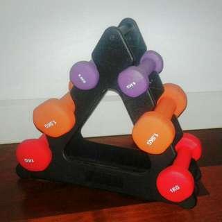 Yoga/pilates/Home Workout Weights Set