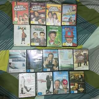 DVDs feat. Robin Williams