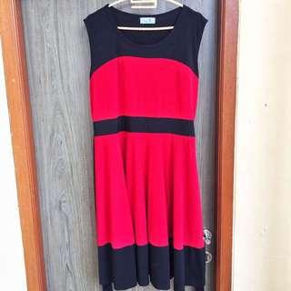 X To X Red Dress
