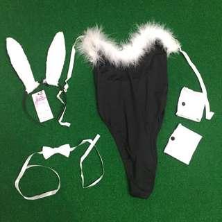 全新 一件式兔女郎裝