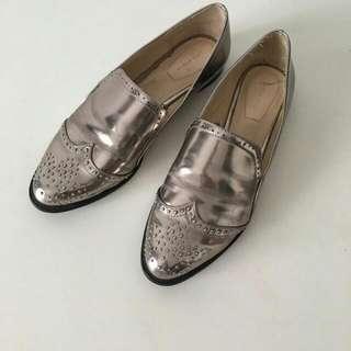 Reprice - Preloved Zara Woman Oxford Shoes