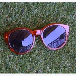 Orange Rim Sunglasses