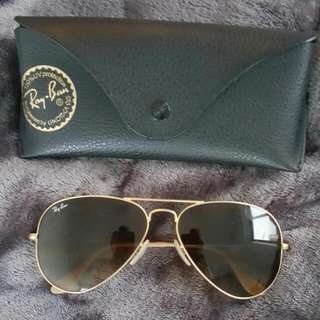 Authentic Ray Ban Aviators 55.00 SGD