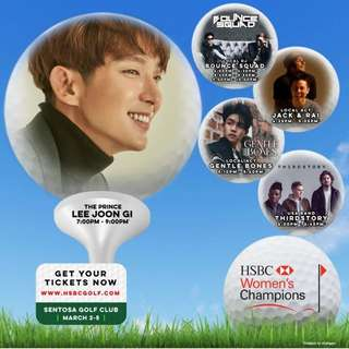VIP Ticket HSBC Music Festival - Lee Joon Gi VIP Tickets