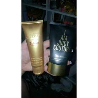 Jean Paul Gaultier & Juicy Couture Body Lotion