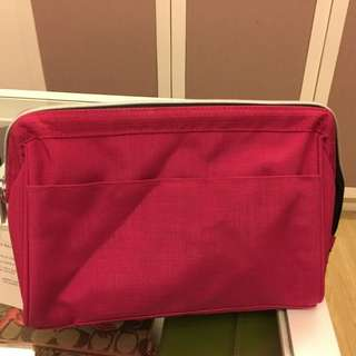 IKEA pink pouch