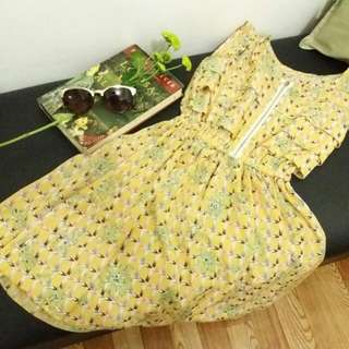 Yellow Summer Dress