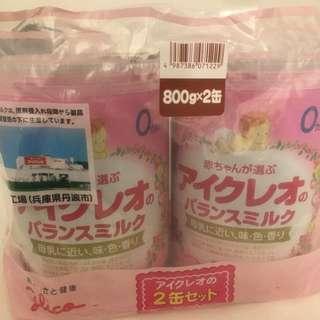 日本固力果奶粉