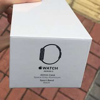 Apple Watch Series 2 Black  42mm