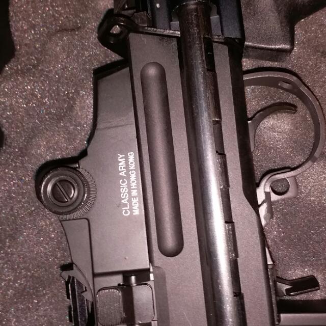 7.62MM M14電槍BB彈全新,冇落過場,試過幾槍,連盒
