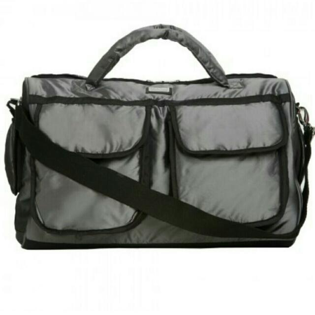 7AM Enfant Voyage Bag - Silver Black