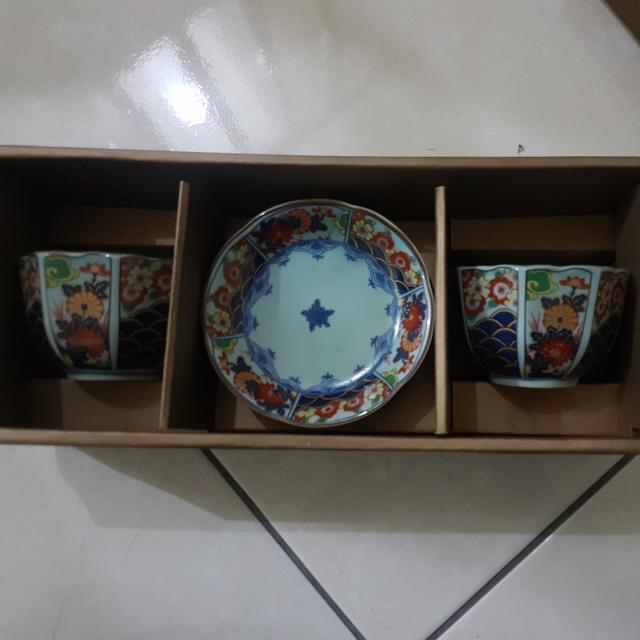 古董茶杯碟子組