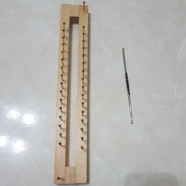 釘板+棒針組