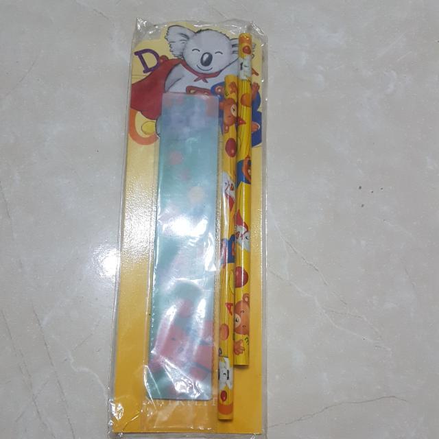 兒童鉛筆及尺