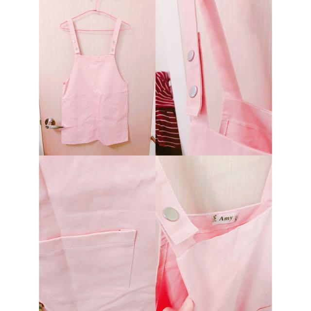 全新粉紅色吊帶裙💝💖💞💕💓💖