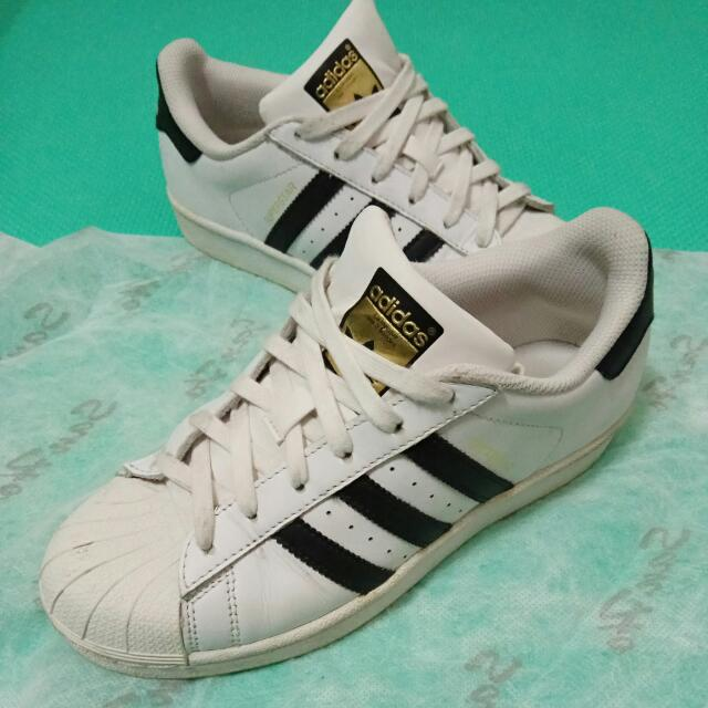 Adidas Superstar 金標 女 23.0