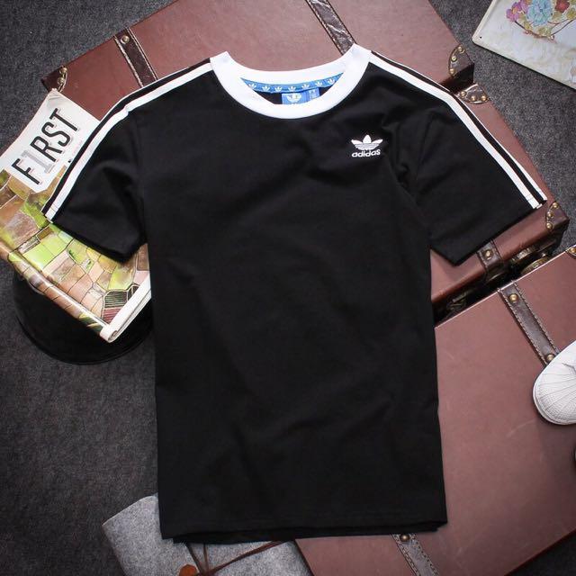 愛迪達adidas圓領T恤