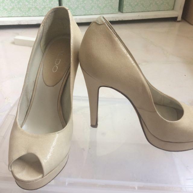 Aldo Peep Toe Heels, Women's Fashion