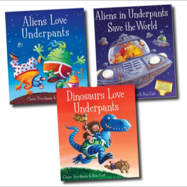 Aliens dinosaur love underpants 3 board books box set books aliens dinosaur love underpants 3 board books box set books stationery fiction on carousell fandeluxe Image collections