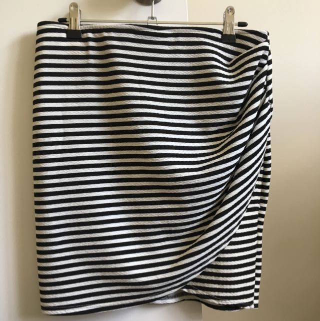 Ally Striped Skirt, Size 12