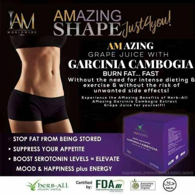 Amazing Grape Juice Garcinia Cambogia (Free Shipping for 2 boxes)