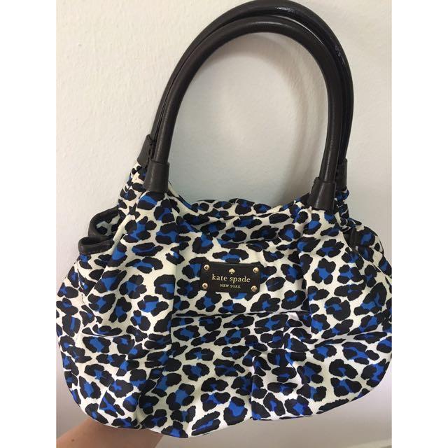 Authentic Kate Spade Animal Print Handbag Women S Fashion Bags Wallets On Carou