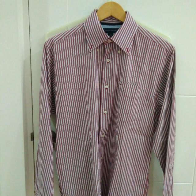 Authentic Tommy Hilfiger Long Sleeve Polo