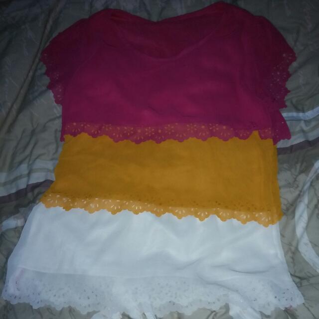 Baju Atasan Wanita 3 Layer